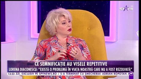 """Adevărul despre visele repetitive! Lorena Diaconescu, psiholog: """"Există o problemă în viața noastră!"""""""