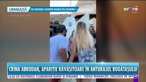 Crina Abrudan, alături de un milionar excentric pe plajele din Mykonos