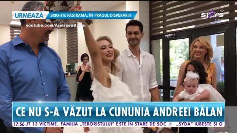 Star News. Intrăm în culisele nunţii Andreei Bălan! Ce nu s-a văzut în filmările de la cununia civilă şi ce probleme au întâmpinat!