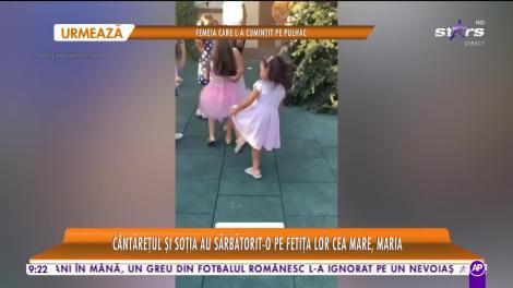Star Matinal e pe val! Petrecere mare în familia lui Pepe. Maria, fetiţa cea mare a artistului, a împlinit vârsta de șapte ani