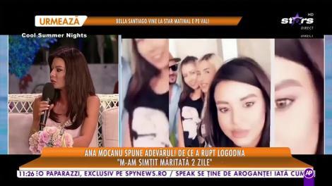 Star Matinal e pe val! Ana Mocanu spune adevărul. De ce a rupt logodna