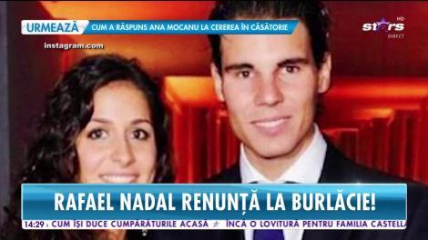 Rafael Nadal renunță la burlăcie. Jucătorul de tenis şi iubita lui au stabilit data nunții