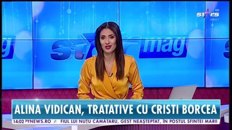 Star News. Ce încearcă Alina Vidican să obțină de la Cristi Borcea