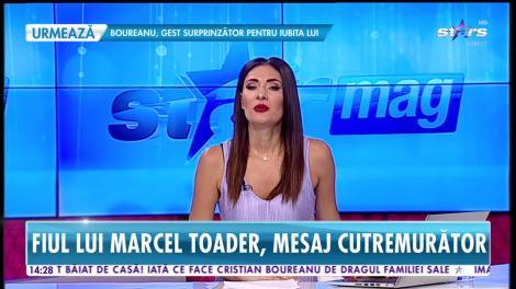 Star News. Fiul lui Marcel Toader trece printr-o perioadă extrem de grea. Maximilian a transmis un mesaj emotionant