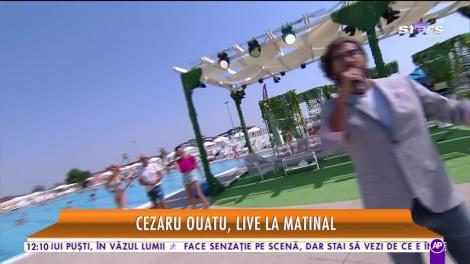 """Cezar Ouatu cântă LIVE la Star Matinal piesa """"Bella ciao"""""""