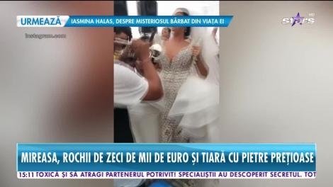 Star News. Andreea Tonciu, show de proporţii la o nuntă de bogătaşi