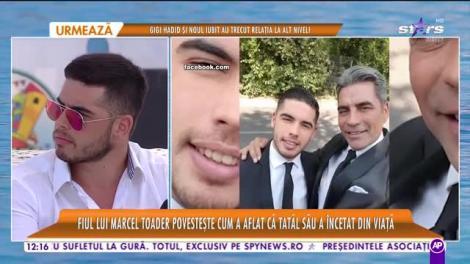 Star Matinal e pe val! Fiul lui Marcel Toader, despre cum a aflat că tatăl său a murit: Am rămas șocat, nu am avut nicio reacție