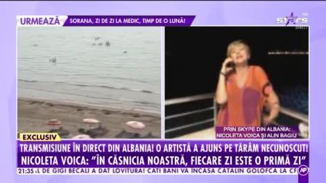 Agenția Vip. Nicoleta Voica şi soţul ei au ajuns în Albania: Toată viața mea am  făcut vacanțe exclusiviste