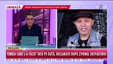 Agenția Vip. Femeia care l-a făcut tată pe Nicolae Guță, declarații după zvonul despărțirii