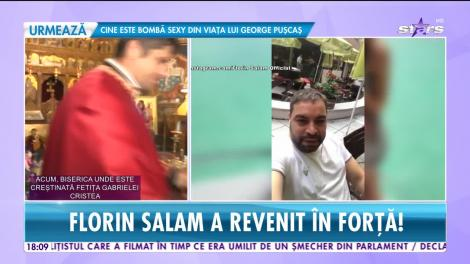Star News. Florin Salam s-a întors în România