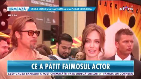 Brad Pitt, probleme grave după divorț