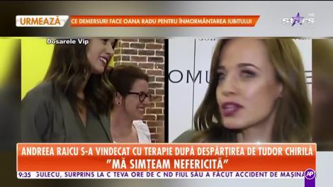 Star Matinal. Andreea Raicu s-a vindecat cu terapie după despărțirea de Tudor Chirilă