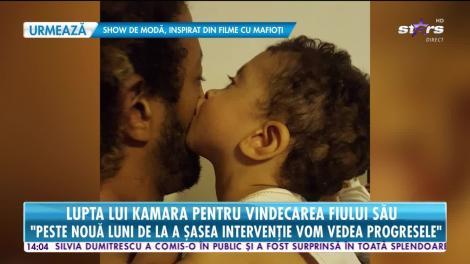Star News. Lupta lui Kamara pentru vindecarea fiului său: Este la a șasea intervenție, dar medicii sunt optimiști