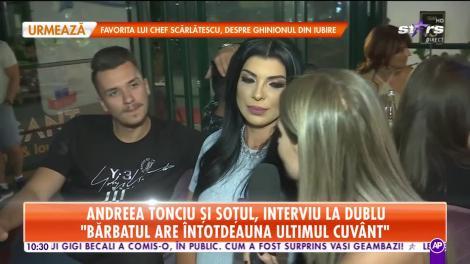 Star Marinal. Andreea Tonciu și soțul, interviu la dublu: Poate pe viitor o să mai vreau copii