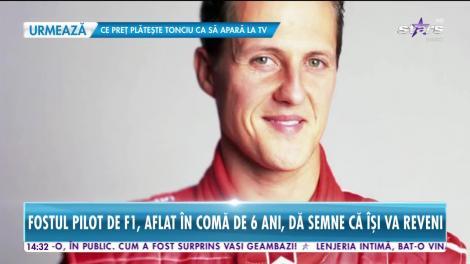 Star News. Speranțe pentru recuperarea lui Michael Schumacher. Medicii: Nu mai este conectat la aparate și este conștient