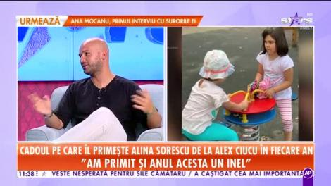 Ce cadou primeşte Alina Sorescu de la Alex Ciucu în fiecare an