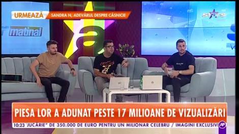 Star Matinal. Florian Rus a dat lovitura în colaborarea cu Mira. Piesa lor, Străzile din Bucureşti, a adunat peste 17 milioane de vizualizări