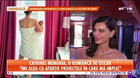 Star Matinal. Interviu în exclusivitate cu Catrinel Menghia. A plecat din România acum 18 ani şi a ajuns una dintre cele mai faimoase femei ale lumii