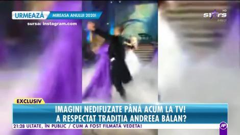 Andreea Bălan și George Burcea s-au căsătorit în weekend! Imagini cu dansul mirilor şi aruncatul buchetului!