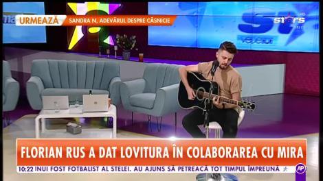 Florian Rus şi Mira cântă piesa momentului, Străzile din Bucureşti, în platoul de la Star Matinal