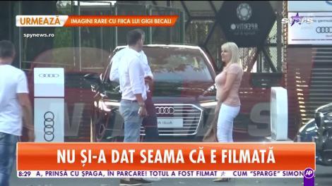 Star Matinal. Elena Udrea, fără să ştie că este filmată, a dat şpagă ziua în amiaza mare!