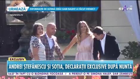 Star News. Îndrăgitul artist Andrei Ștefănescu s-a căsătorit cu Antonia, aleasa inimi sale