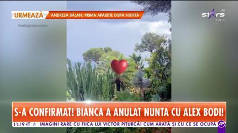 Star Matinal. Unde au petrecut Bianca Drăgușanu și Alex Bodi în ziua în care trebuiau să ajungă în fața altarului