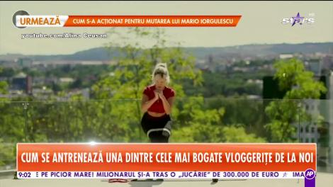 Star Matinal. Alina Ceușan, secretele unui trup tras prin inel