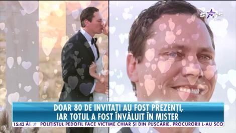 Star News. DJ Tiesto, nuntă de senzație departe de lume