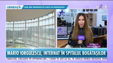 Star News. Spitalizarea lui Mario Iorgulescu costă câteva mii de euro pe noapte, în condiţii de cinci stele
