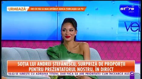 Star Matinal. Soția lui Andrei Ștefănescu, surpriză de proporții. Când va avea loc cununia religioasă
