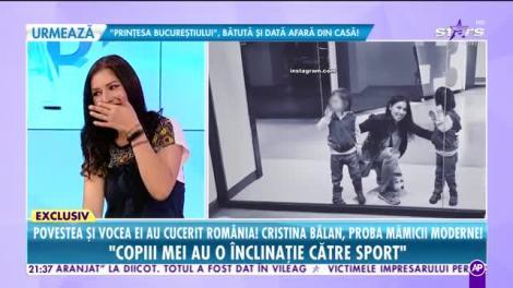 Răi da buni. Povestea și vocea ei au cucerit România! Cristina Bălan, proba mămicii moderne