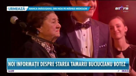 Tamara Buciuceanu Botez va rămâne internată în Secţia de Terapie Intensivă de la Elias