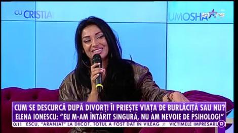Agenția Vip. Cum se descurcă Elena Ionescu după divorț! Îi priește viața de burlăciță sau nu?