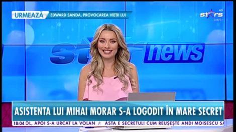 Star News. Elena Marin, sexy asistenta lui Răi da Buni, s-a logodit în secret. Nașii vor fi Mihai Morar și soția lui, Gabriela