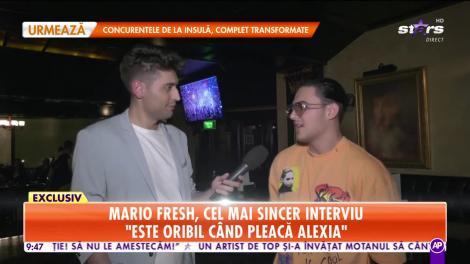 Star Matinal. Mario Fresh, cel mai sincer interviu: Nu pot să trec peste infidelitate într-o relație