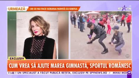 Star Matinal. Nadia Comăneci, planuri pentru copiii sportivi din România: Vreau să dau înapoi puțin copiilor care nu au posibilități