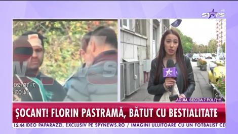 Florin Pastramă, bătut cu bestialitate! Imagini şocante cu soţul lui Brigitte Sfăt