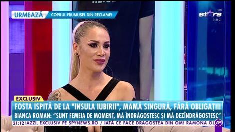 """Bianca Roman, fosta ispită de la """"Insula Iubirii"""", o mamă singură şi fără obligaţii!"""