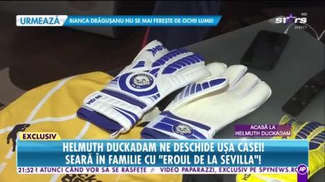 """Helmuth Duckadam ne deschide uşa casei! Seara in familie cu """"Eroul de la Sevilla"""""""