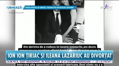 """Ion Ion Ţiriac şi Ileana Lazariuc au divorțat în secret! Primele declarații ale celor doi: """"Din dorința de a reduce la tăcere..."""""""