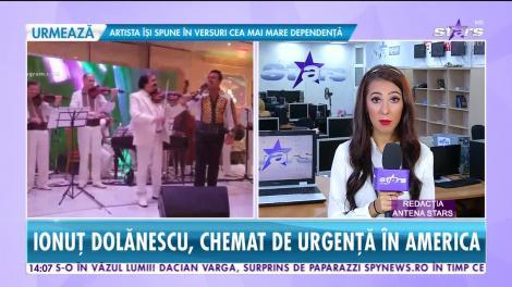 Star News. Ionuţ Dolănescu, chemat la audieri în America. Artistul și-a anulat toate spectacolele din România