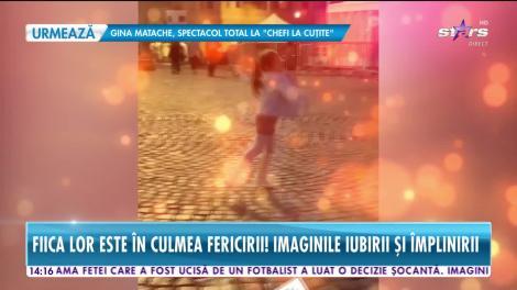 Misha şi Connect-R, împreună cu fetiţa lor,  în vacanţă la Roma!