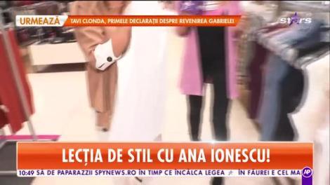 E mereu fashion şi îşi alege ţinutele perfect! Ana Maria Ionescu, soţia lui Tudor de la Fly Project, te învaţă cum să te îmbraci în sezonul toamnă- iarnă