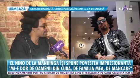 Star News. El Nino de la Mandinga a plecat din Cuba din cauza sărăciei și a ajuns star în România