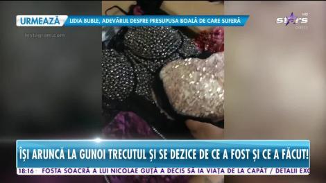 Star News. Daniela Crudu îşi aruncă la gunoi trecutul şi se dezice de ce a fost şi ce a făcut!