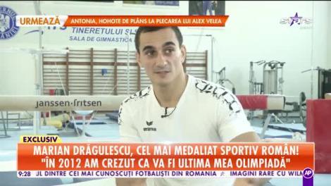 Star Matinal. Marian Drăgulescu, cel mai medaliat sportiv român