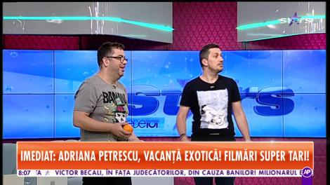 Flick și Răzvan Popescu, jonglerii cu trei portocale la Star Matinal: Cu două te omoară nevastă-ta, tâmpitule!