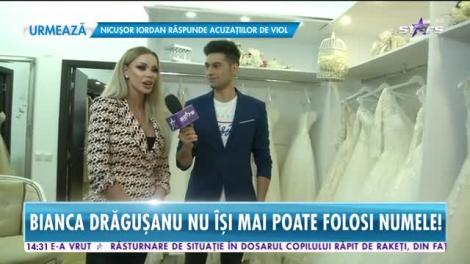 Star News. Bianca Drăgușanu nu își mai poate folosi numele. Blonda ajunge în instanță cu cel care i-a pus gând rău