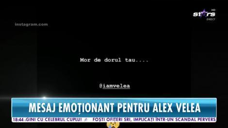 Star News. Antonia, cu gândul la Alex Velea. Mesaj emoționant